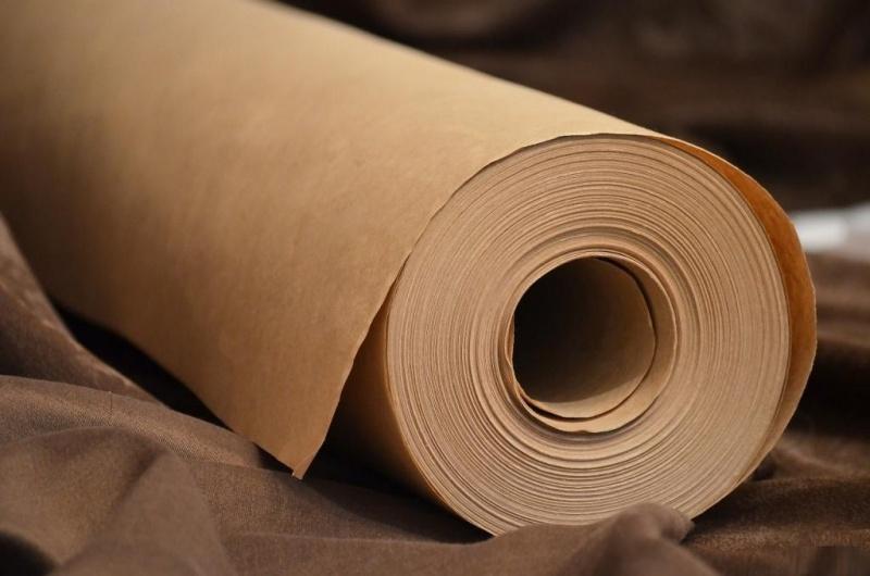 Рулон оберточной бумаги